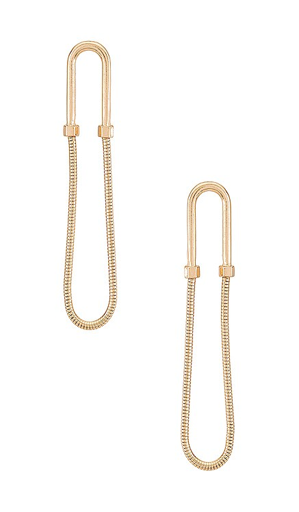 Drop Earring Amber Sceats $79