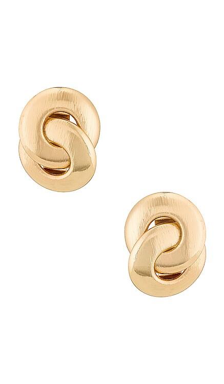 Textured Earring Amber Sceats $55