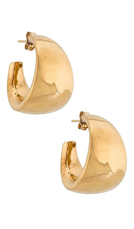 X Jade Tunchy Praiano Earrings Amber Sceats $229