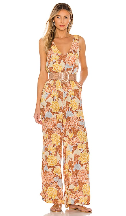 Bliss Tank Woven Jumpsuit AMUSE SOCIETY $83