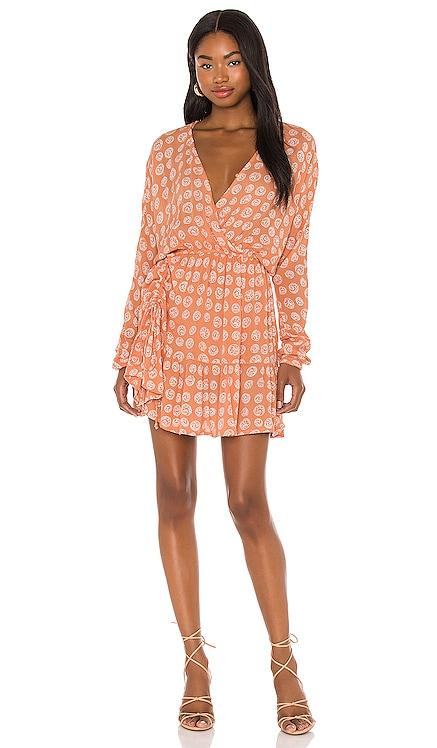 Spellbound Woven Mini Dress AMUSE SOCIETY $70 NEW