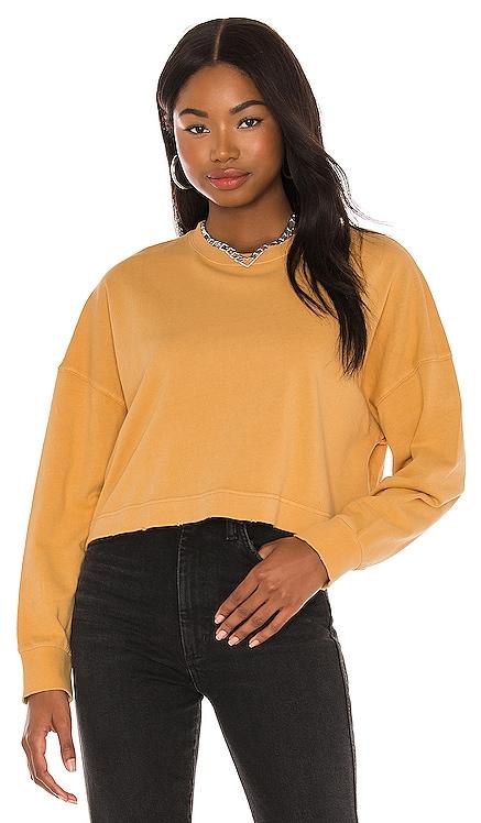 Midnight Road Long Sleeve Knit Fleece Sweatshirt AMUSE SOCIETY $66 NEW