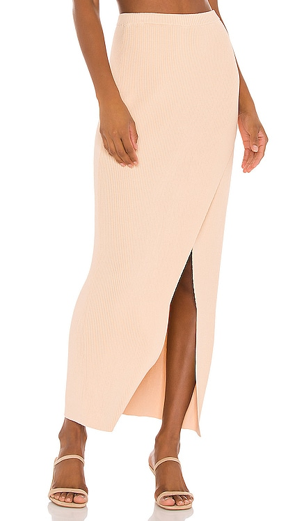 Mona Knit Maxi Skirt AMUSE SOCIETY $56