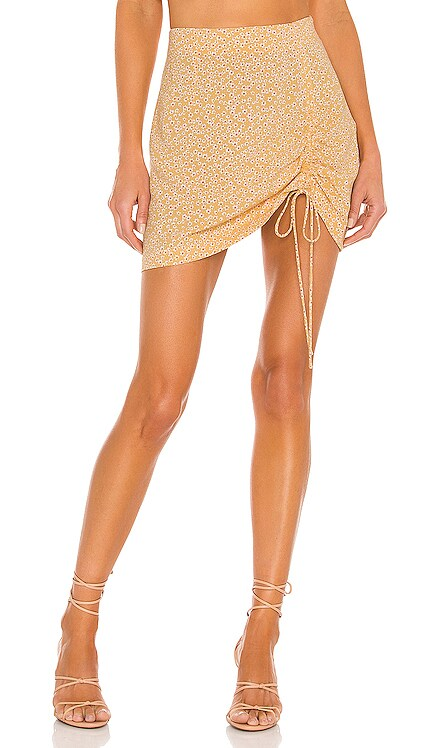 Celeste Woven Mini Skirt AMUSE SOCIETY $50