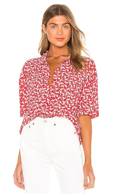 Miaou Short Sleeve Blouse AMUSE SOCIETY $54 BEST SELLER