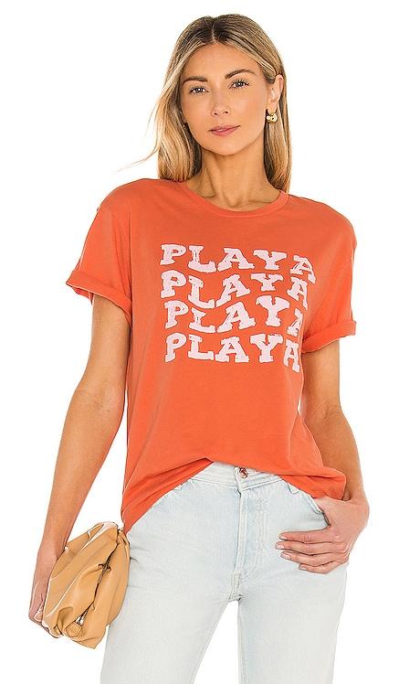 Playa Short Sleeve Knit Tee AMUSE SOCIETY $30