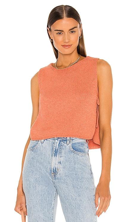 Avalon Knit Top AMUSE SOCIETY $58 NEW