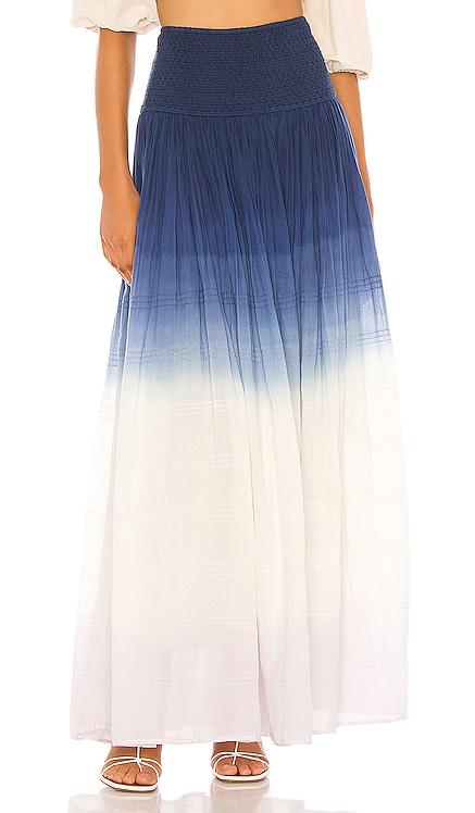 Orai Smocked Maxi Skirt ANAAK $141