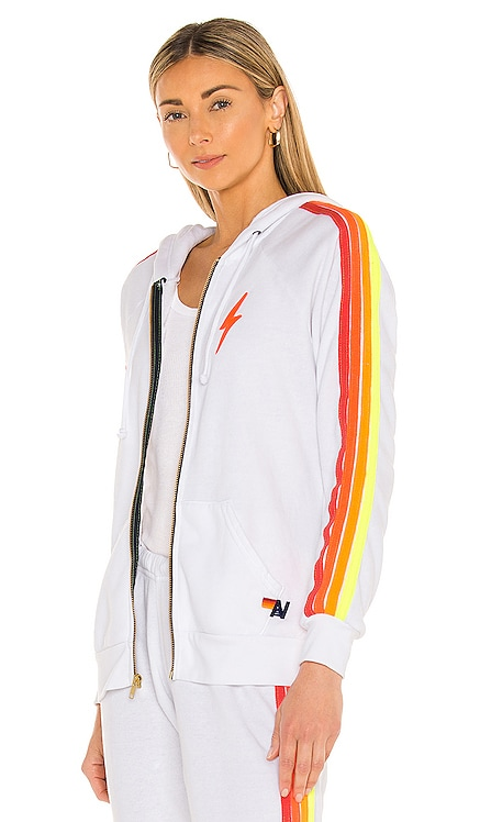 Bolt Embroidery Classic Hoodie Aviator Nation $196 NEW