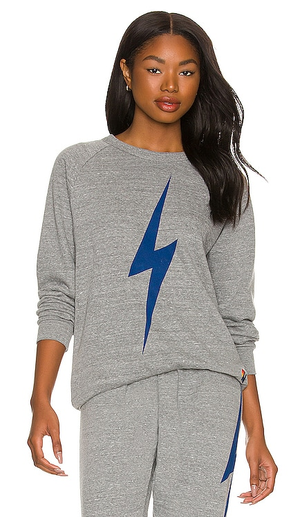 Bolt Crew Sweatshirt Aviator Nation $165 NEW