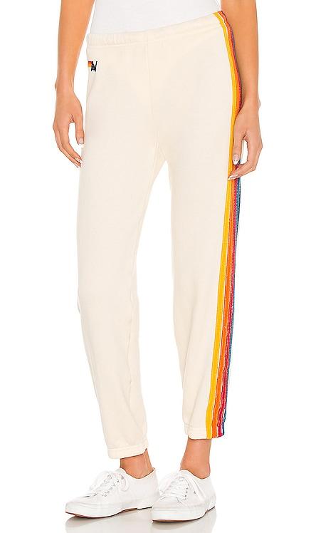 5 Stripe Sweatpant Aviator Nation $156 BEST SELLER