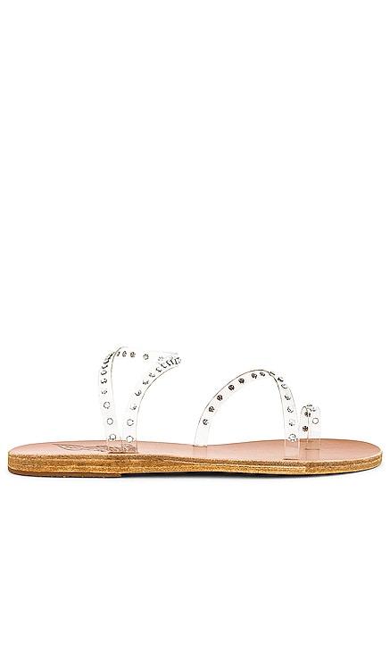Apli Eleftheria Crystals Sandal Ancient Greek Sandals $280
