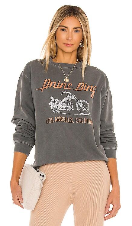 Motorcycle Sweatshirt ANINE BING $169