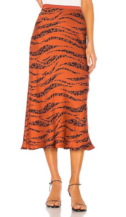 Bar Silk Skirt ANINE BING $135