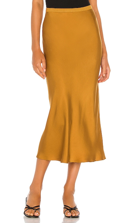 Bar Silk Skirt ANINE BING $249
