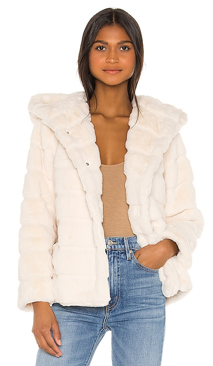 Goldie Faux Fur Jacket Apparis $230 BEST SELLER