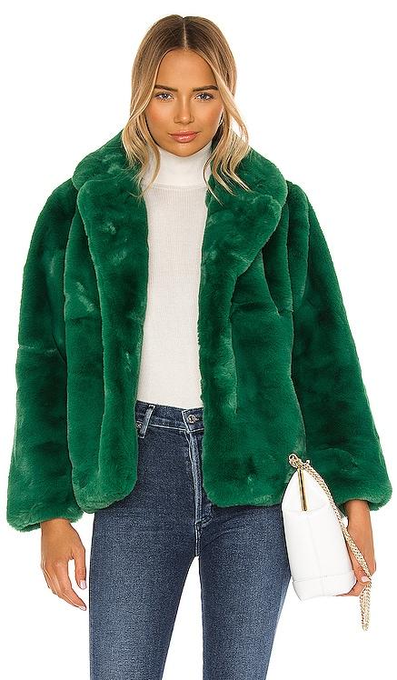 Manon Faux Fur Jacket Apparis $325 NEW