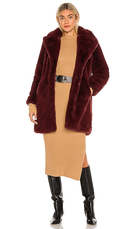 Sasha Faux Fur Jacket Apparis $375