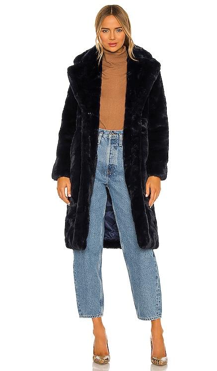 Siena Faux Fur Coat Apparis $460 NEW