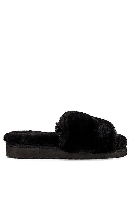 Jasmine Faux Fur Slipper Apparis $98 NEW