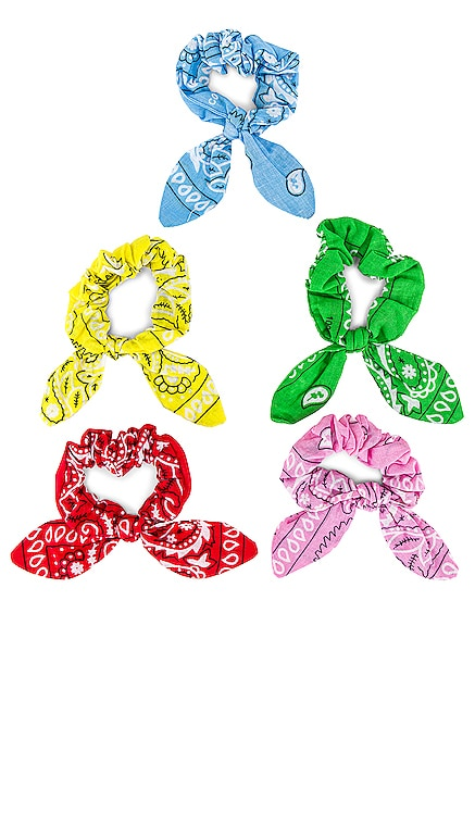 Chouchou Bandana Hair Scrunchie Set Arizona Love $82