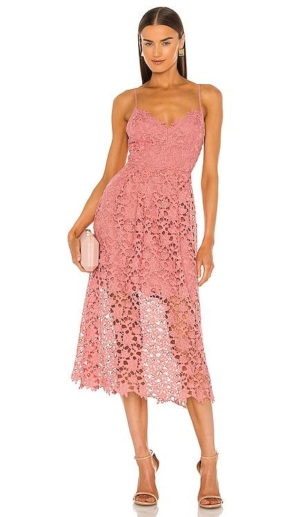 Lace A-Line Midi Dress ASTR the Label $89 BEST SELLER
