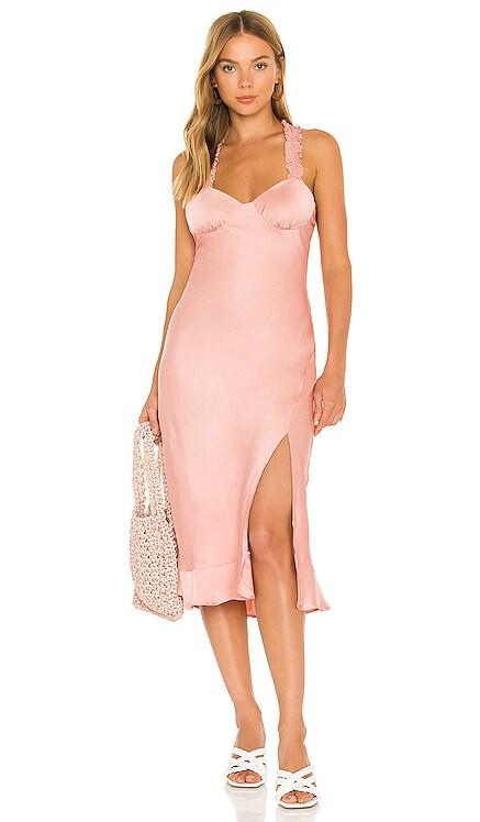 Cross Back Ruffle Strap Dress ASTR the Label $88 NEW