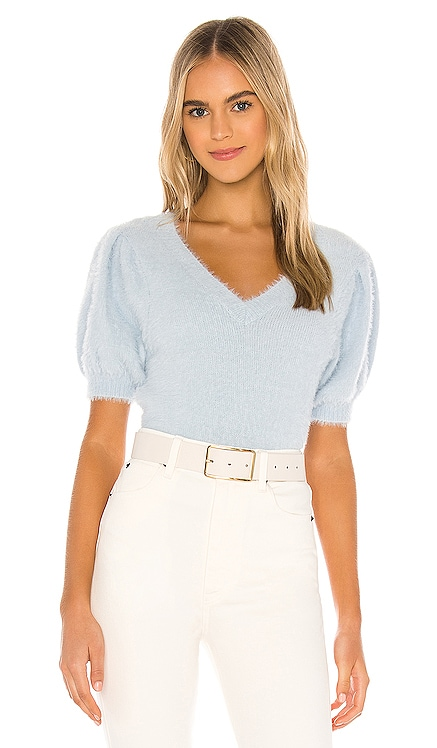 PULL MANCHES COURTES ALINA ASTR the Label $78 BEST SELLER