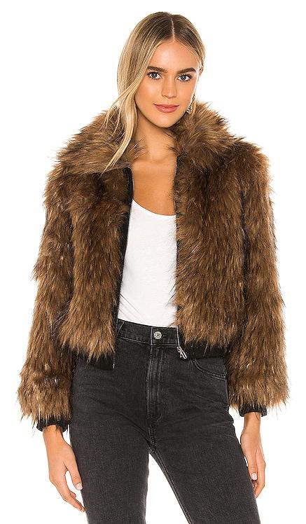 Jiselle Faux Fur Jacket ASTR the Label $143