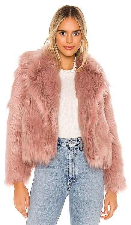 Adair Faux Fur Jacket ASTR the Label $162