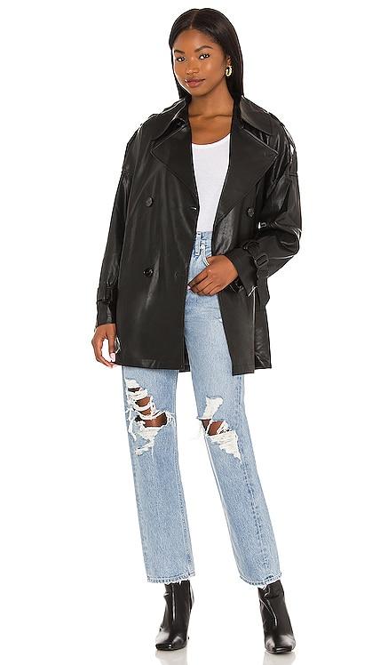 Peoria Vegan Leather Jacket ASTR the Label $188
