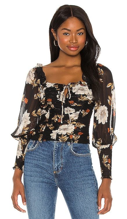 Square Neck Ruched Top ASTR the Label $69