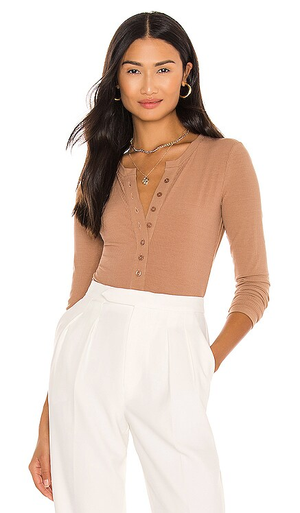 Henley Bodysuit ASTR the Label $68 NEW