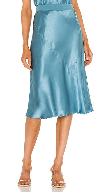Silk Pull On Skirt ATM Anthony Thomas Melillo $295 NEW