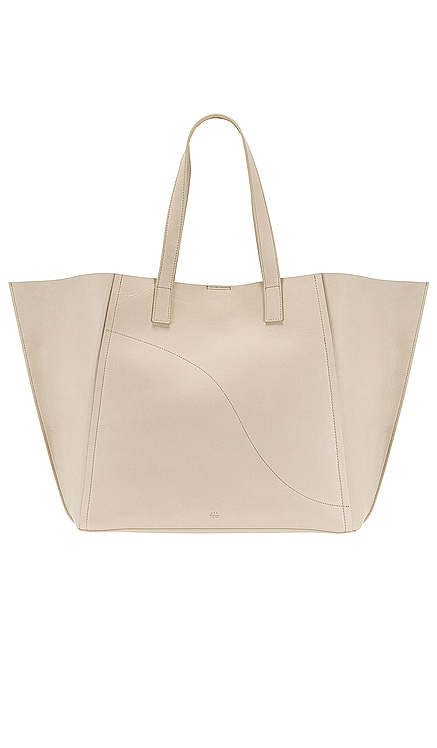 Conversano Ice White Double Faced Nappa Tote ATP Atelier $890