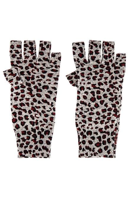 Leopard Print Gloves Autumn Cashmere $53