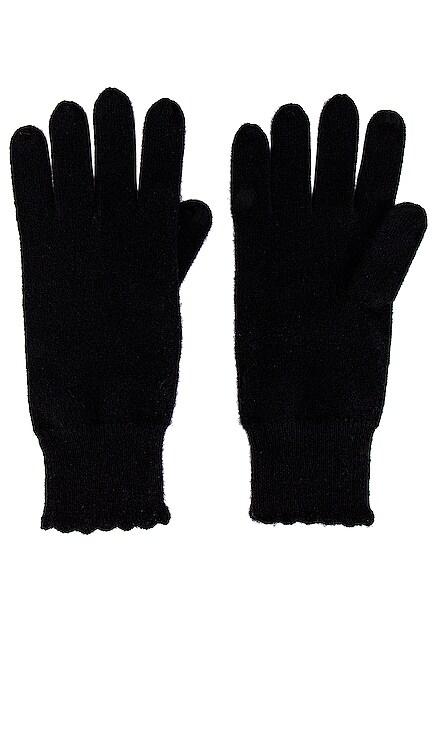 Scallop Edge Gloves Autumn Cashmere $105