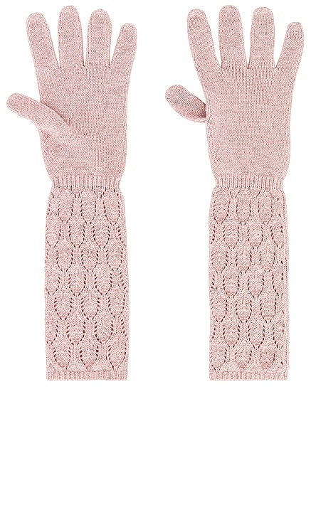Long Cinched Gloves Autumn Cashmere $135 NEW