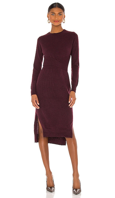 Wrap 'N Tie Dress Autumn Cashmere $430 BEST SELLER