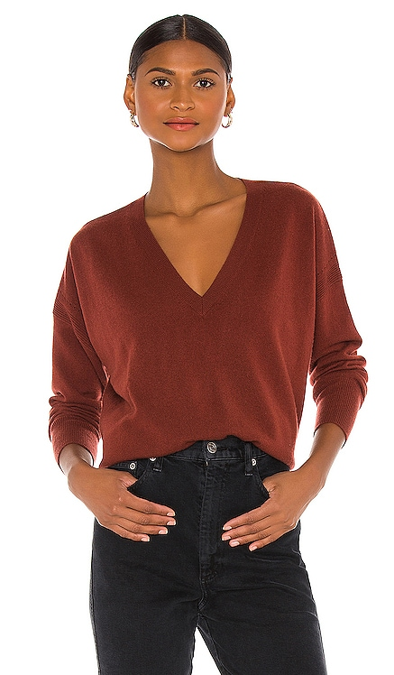 Relaxed V Sweater Autumn Cashmere $320