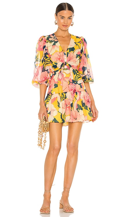 Zora Short Dress Alexis $363 NEW