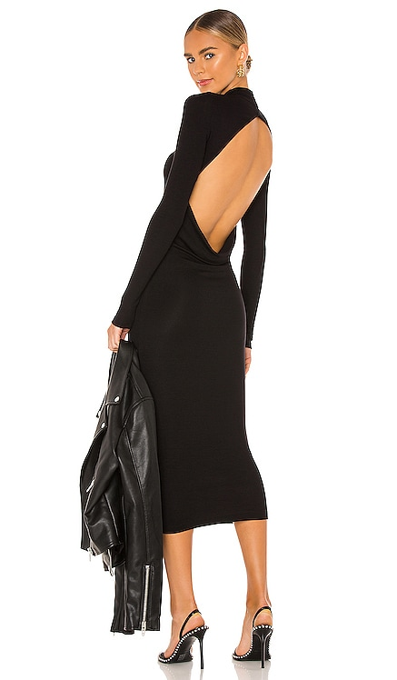 ROBE MI-LONGUE ANDERSON ALIX NYC $275 BEST SELLER