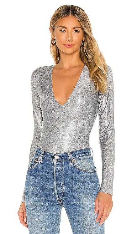 Irving Metallic Bodysuit ALIX NYC $195