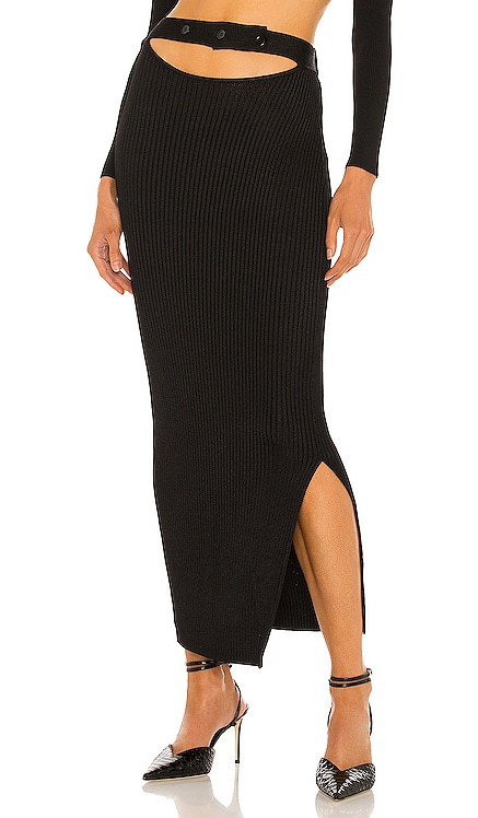 Maggie Cutout Skirt Aya Muse $385 NEW