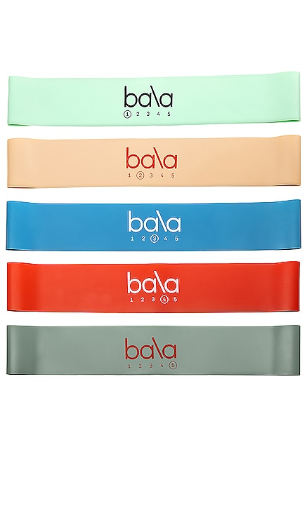 ÉQUIPEMENT DE TRAINING 5 BANDS bala $20 BEST SELLER