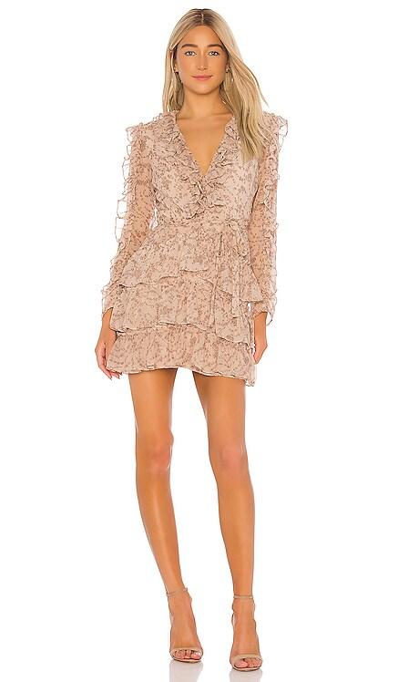 Alessia Frill Dress Bardot $129