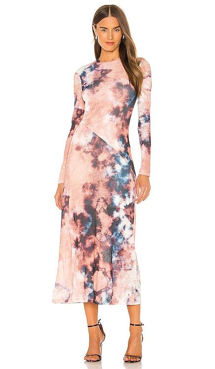 Tie Dye Dress Bardot $89 BEST SELLER