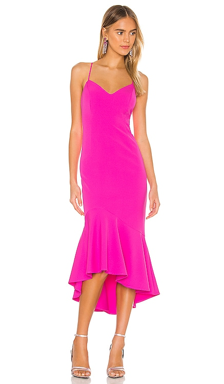Lisandra Midi Dress Bardot $129 NEW ARRIVAL