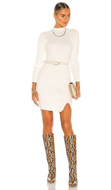 Mini Rib Knit Dress Bardot $99