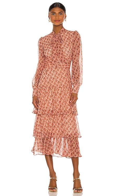 ROBE MAXI LAINEY Bardot $189 NOUVEAU